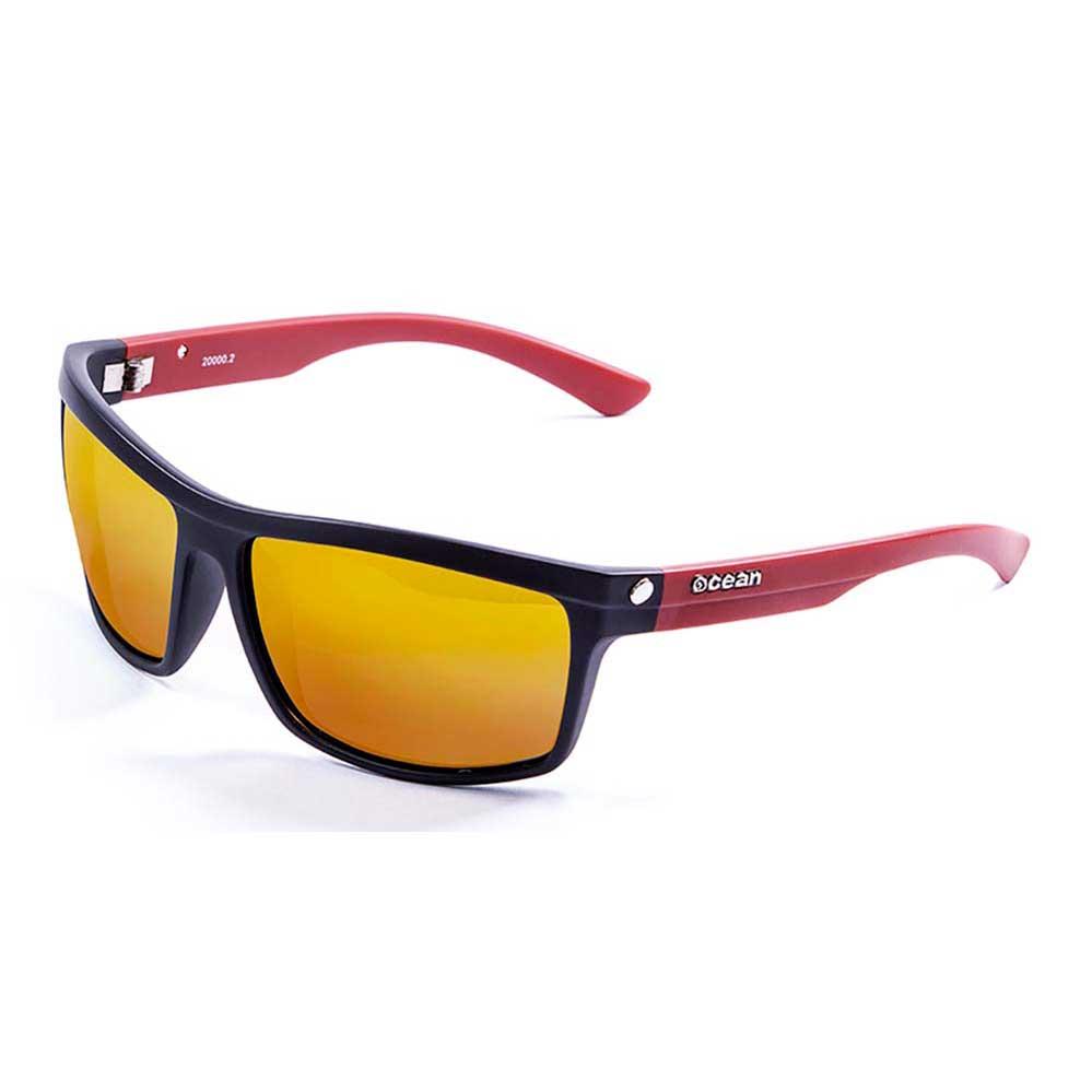sonnenbrillen-ocean-sunglasses-john-one-size-matte-black-red