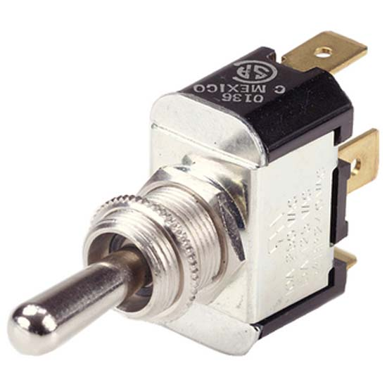 Ancor Nickel Plated Brass Toggle