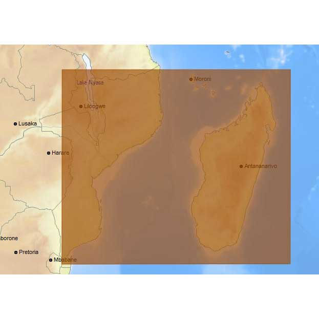 C-map 4D Max Local Mozambique Channel and Madagascar
