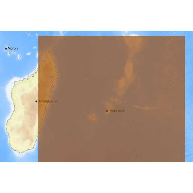 C-map 4D Max Local Mauritius Islands and Reunion