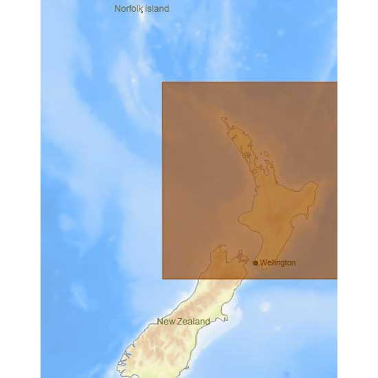 C-map 4D Max Local North Island of New Zealand