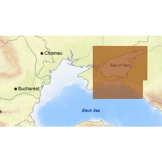 C-map 4D Max Local Sea Og Azov and East of Black Sea