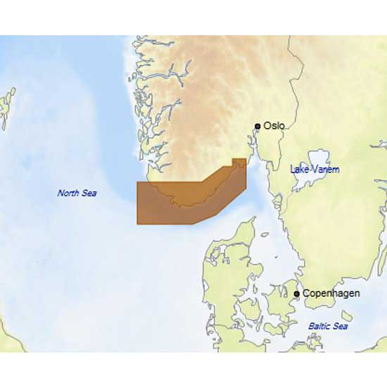 C-map 4D Max Local Lavik to Egersund