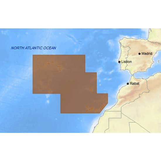 C-map 4D Max Local Madeira Azores and Canary Islands