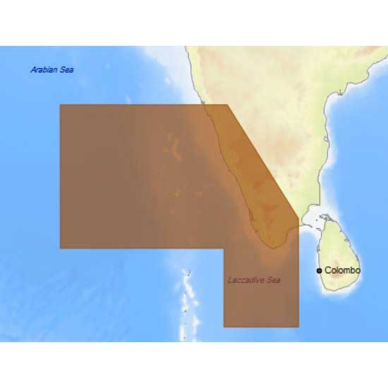 C-map 4D Max Local Southeast Coasts of India