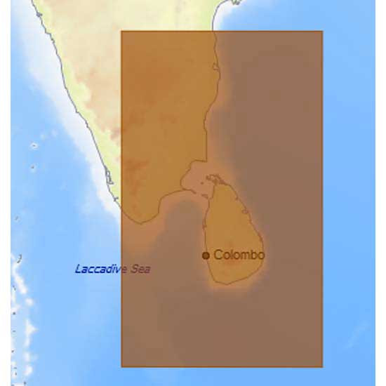 C-map 4D Max Local Southeast Coasts of India and Sri Lanka