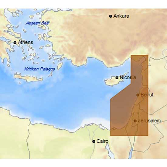 C-map 4D Max Local Israel Lebanon and Syria