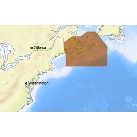 C-map 4D Max Local Fundy Nova Scotia and Cape Breton