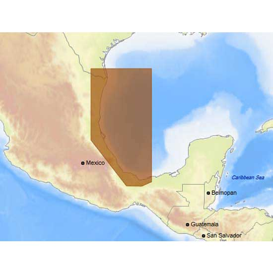C-map 4D Max Local Brownsville to Coatzacoalcos