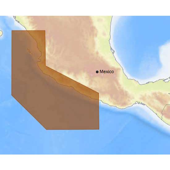 C-map 4D Max Local Acapulco to Mazatlan