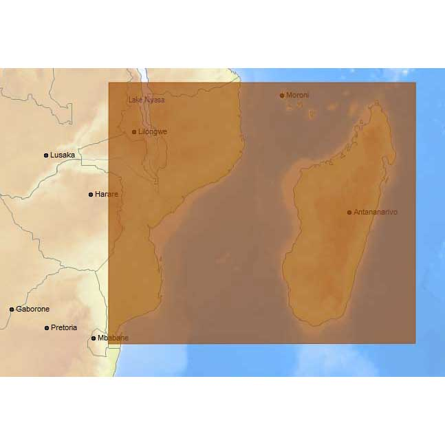 C-map 4D Max+ Local Mozambique Channel and Madagascar