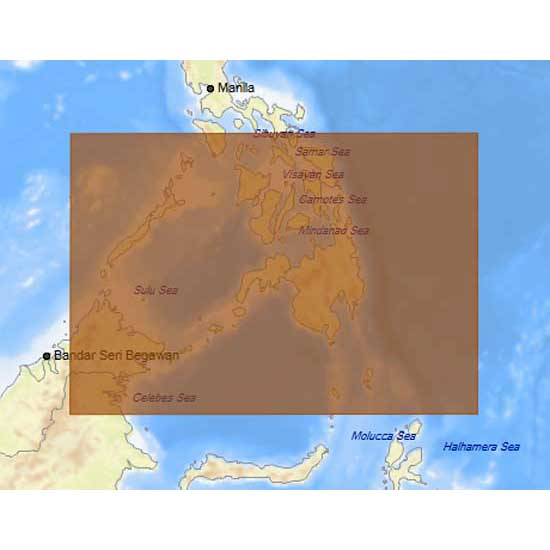 C-map 4D Max+ Local South Philippines