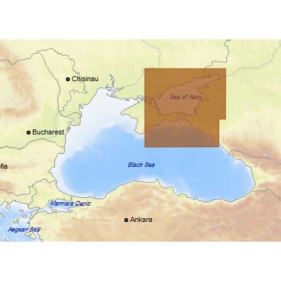 C-map 4D Max+ Local Sea of Azov and East of Black Sea