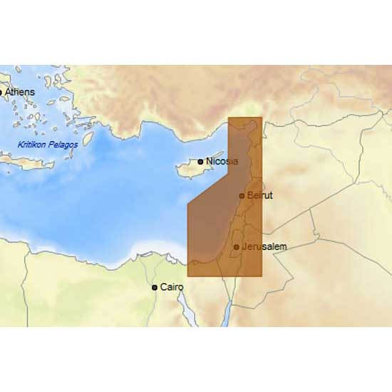 C-map 4D Max+ Local Israel Lebanon and Syria