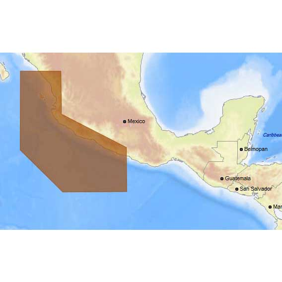 C-map 4D Max+ Local Acapulco to Mazatlan