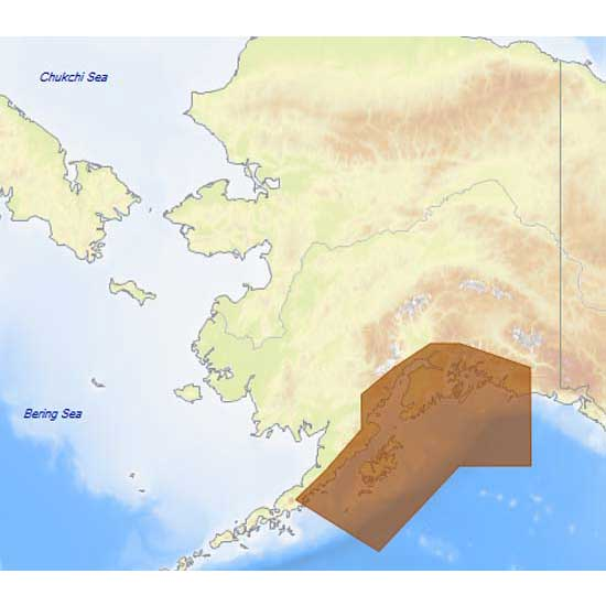 C-map 4D Max+ Local Pws Cook Entrance and Kodiak Island