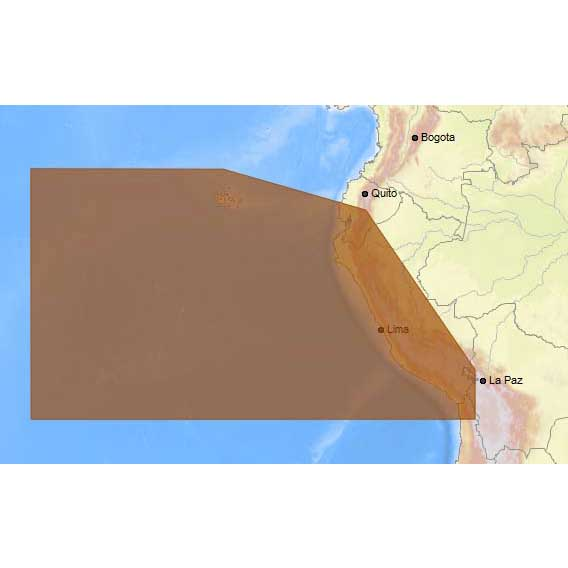 C-map 4D Max+ Local Arica Chile to Guayaquil Ecuador