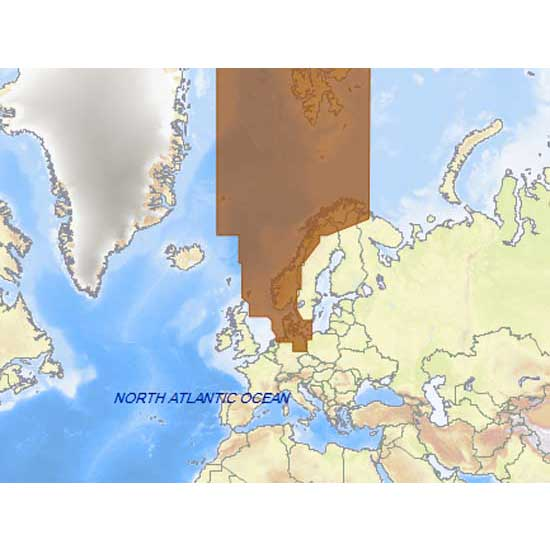 C-map 4D Max+ Wide North Sea and Denmark