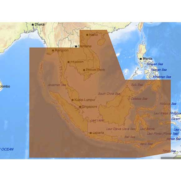 C-map 4D Max+ Wide Thailand Malaysia West Indonesia