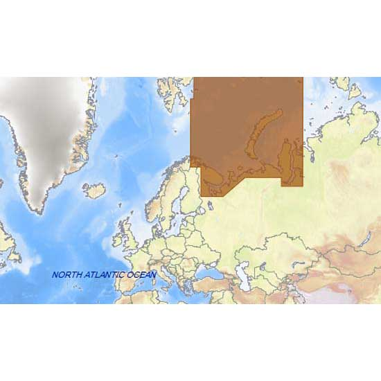 C-map 4D Max+ Wide Northeast of The Russian Federation