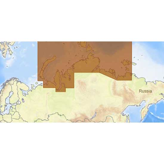 C-map 4D Max+ Wide North Central of The Russian Federation