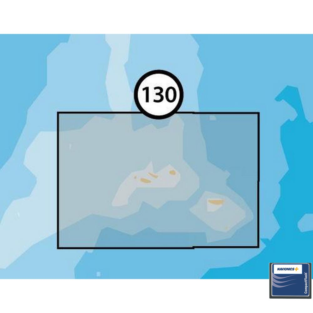 Navionics Navionics+ Small CF Azores Islands