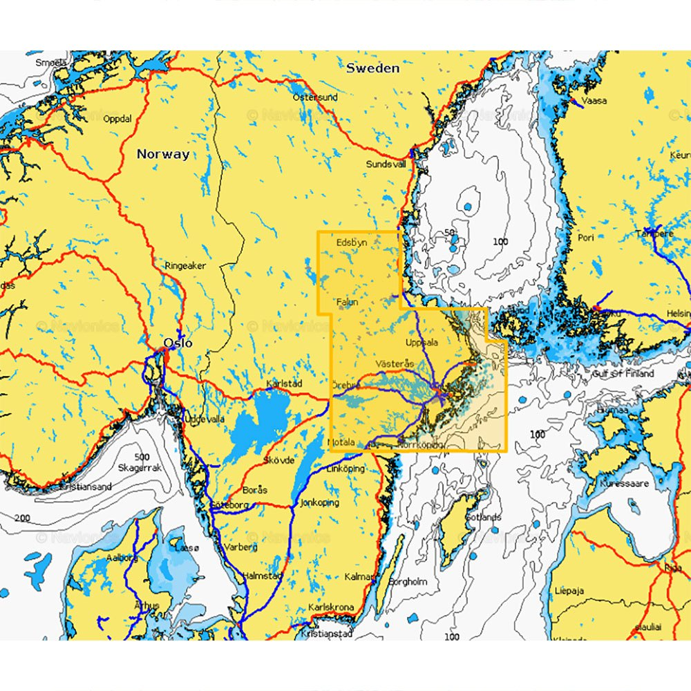 Navionics Navionics+ Small Cf East of Sweden