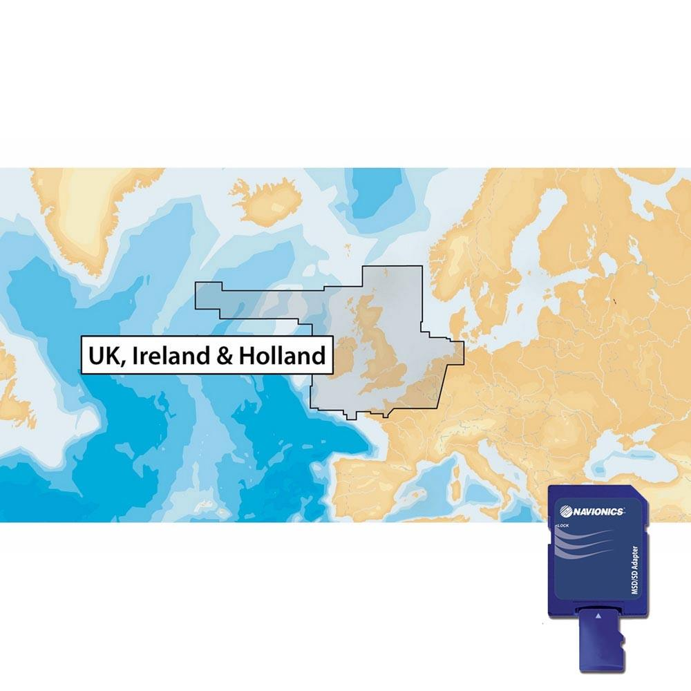 Navionics Navionics+ Xl9 United Kingdom Ireland and Netherlands 28XG