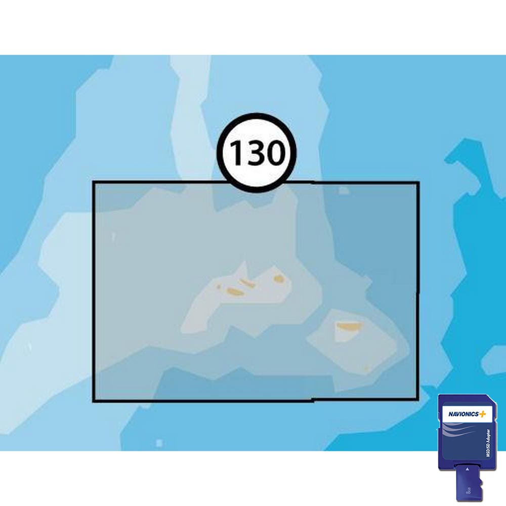 Navionics Navionics+ Small SD Azores Islands