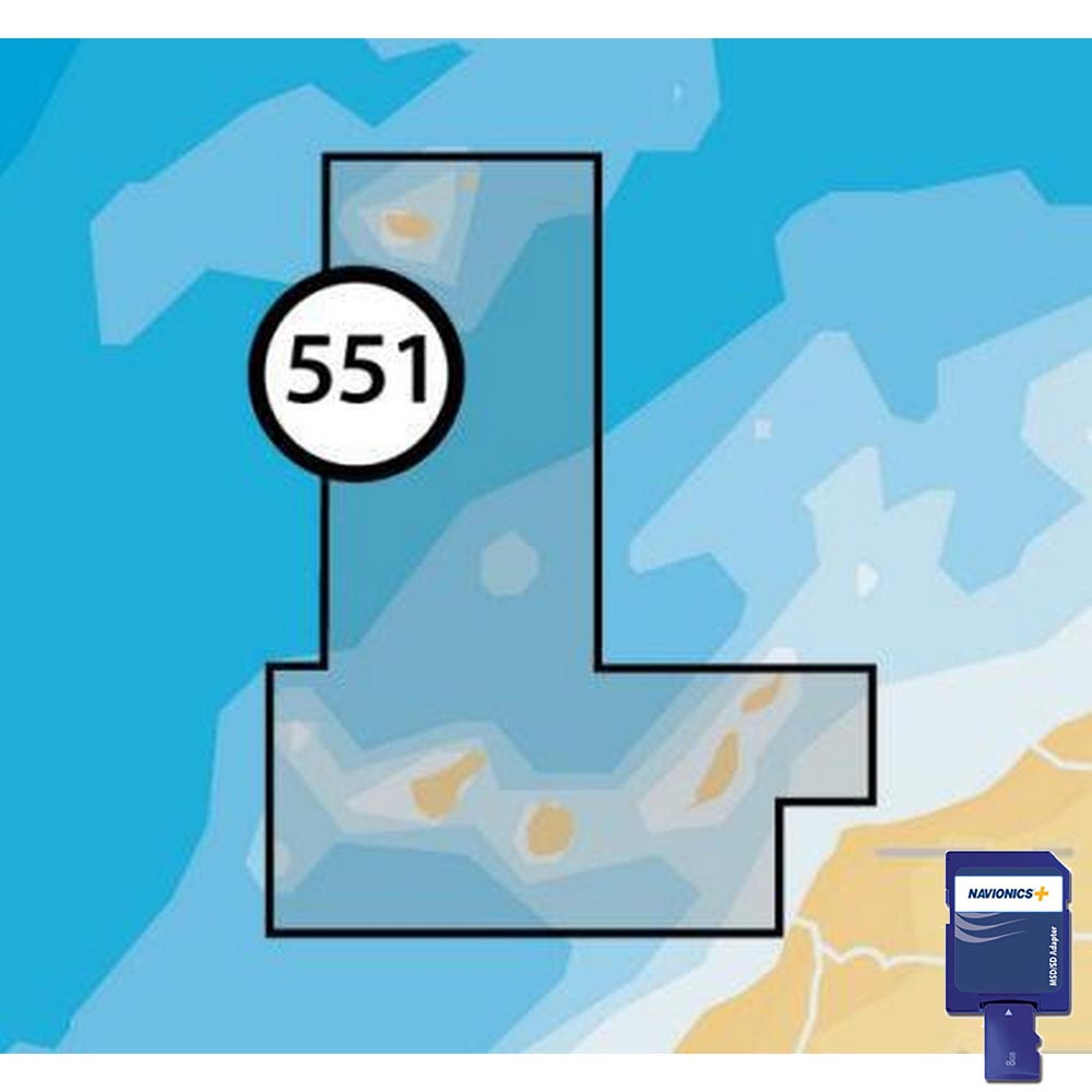 Navionics Navionics+ Small SD Canary Islands and Madeira