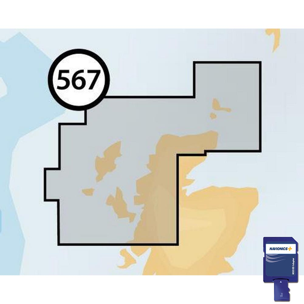 Navionics Navionics+ Small SD Northeast of Scotland