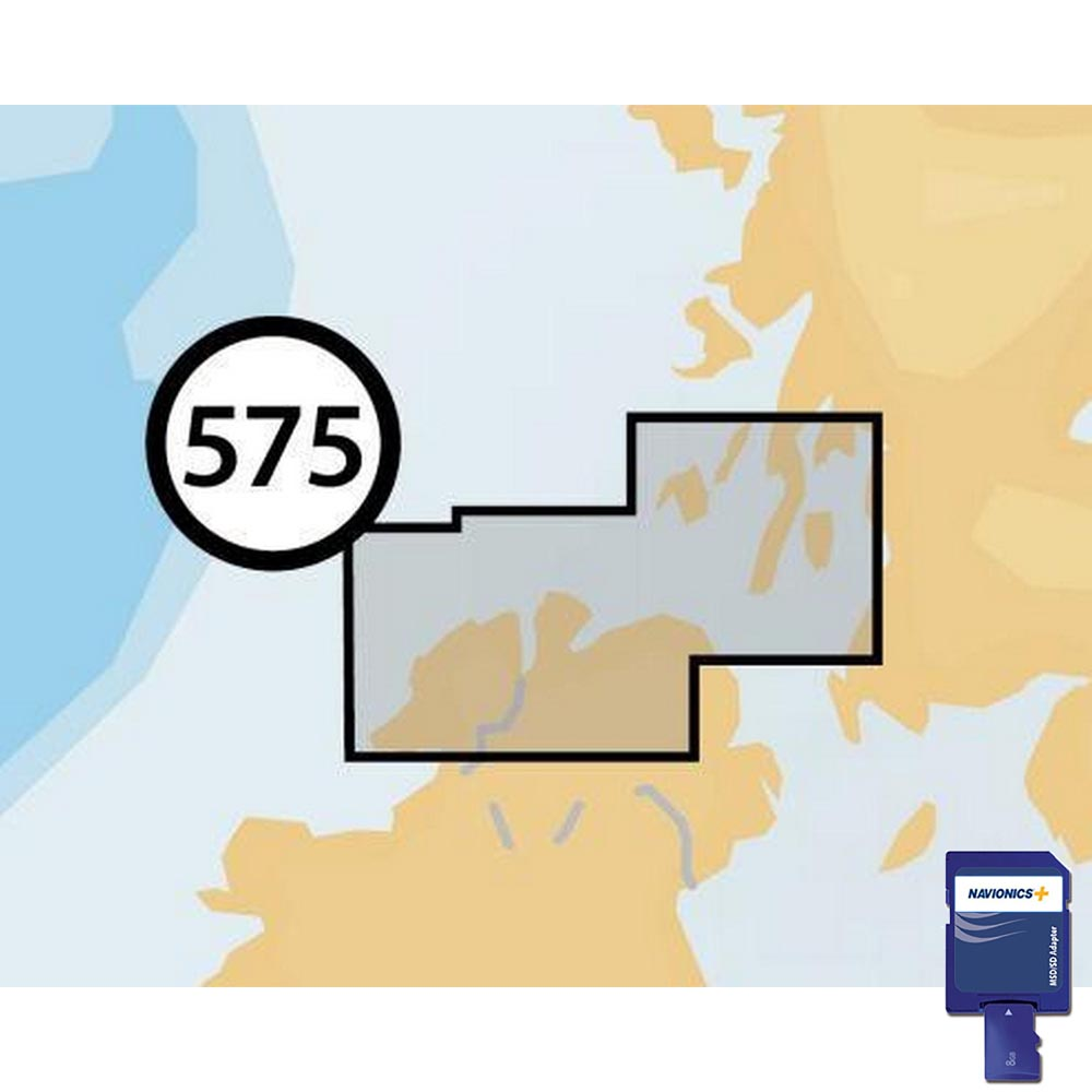 Navionics Navionics+ Small SD North of Ireland