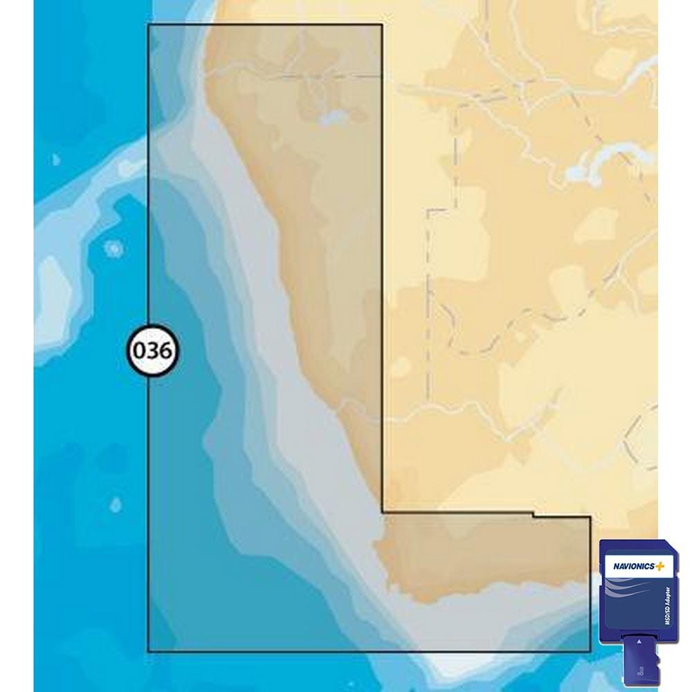 Navionics Navionics+ Small SD Southeast of Africa