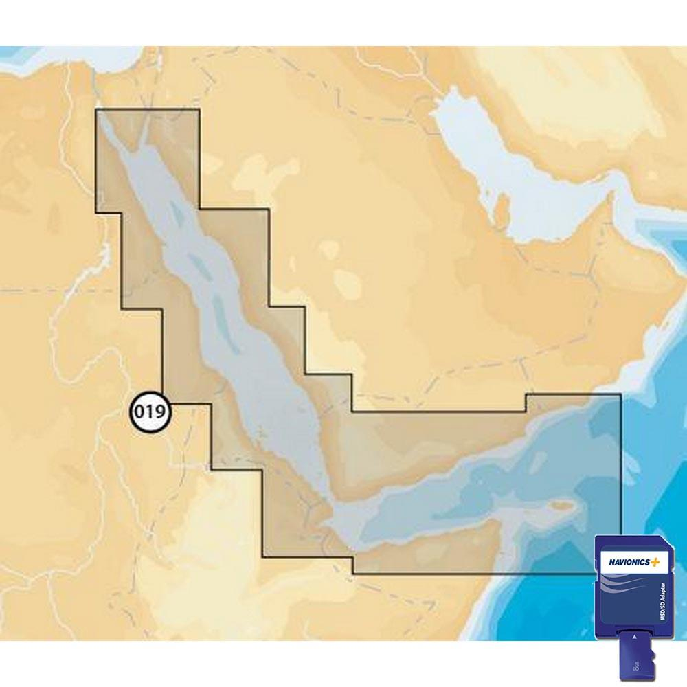 Navionics Navionics+ Small SD Red Sea Aden Gulf