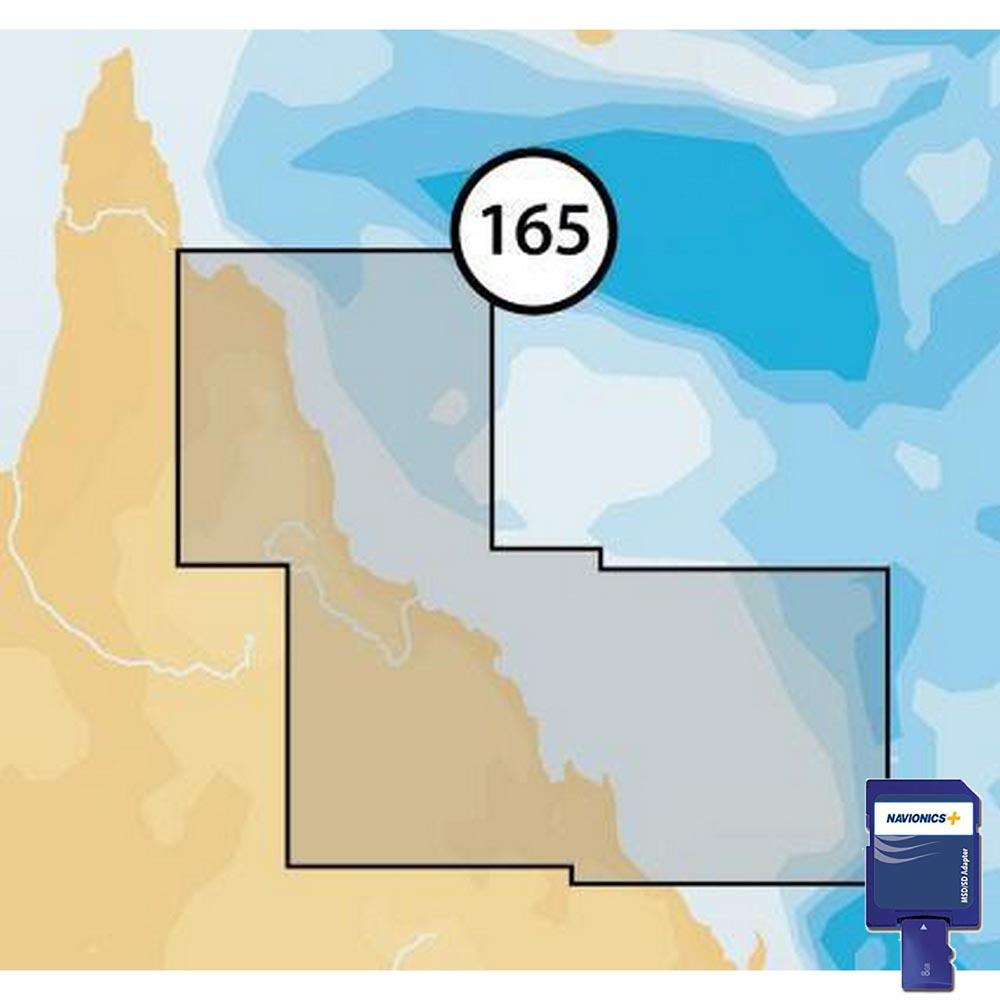 Navionics Navionics+ Small SD Northeast of Australia