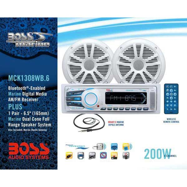 Boss audio MCK1308WB.6 Pack