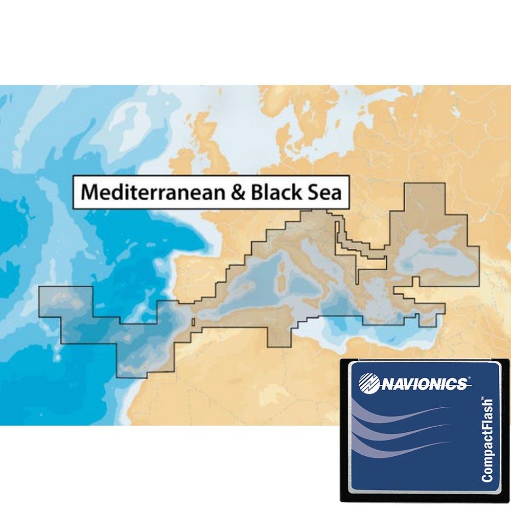 Navionics Navionics+ Xl9 Mediterranean Sea and Black Sea 43XG