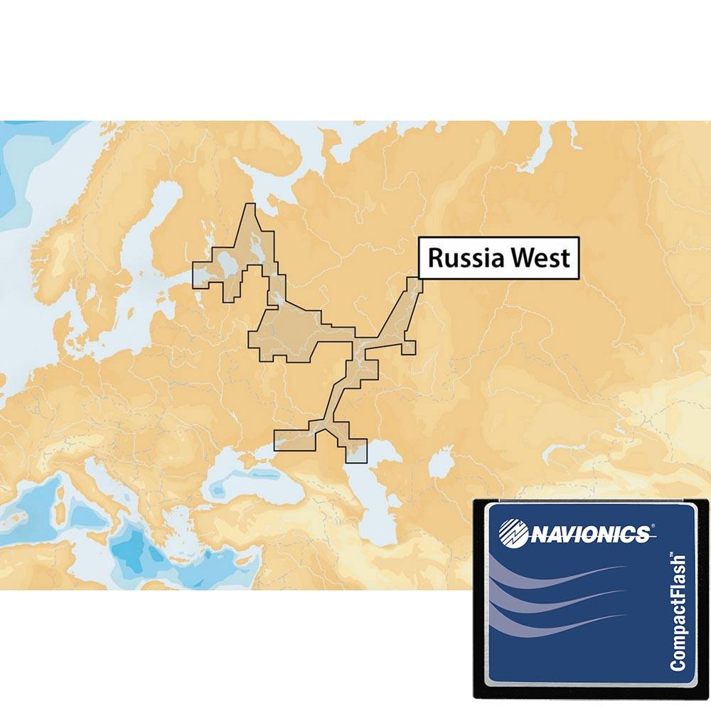 Navionics Navionics+ Xl9 West of Russia 52XG