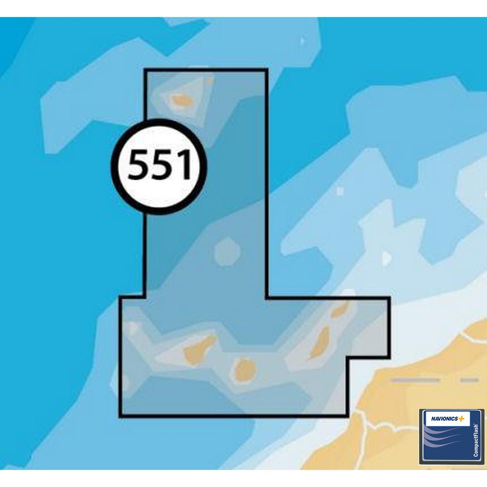 Navionics Navionics+ Small CF Canary Islands and Madeira
