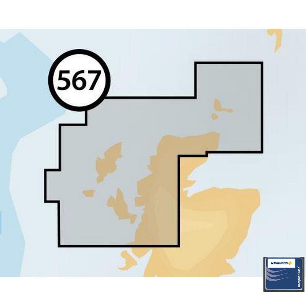 Navionics Navionics+ Small CF Northeast of Scotland