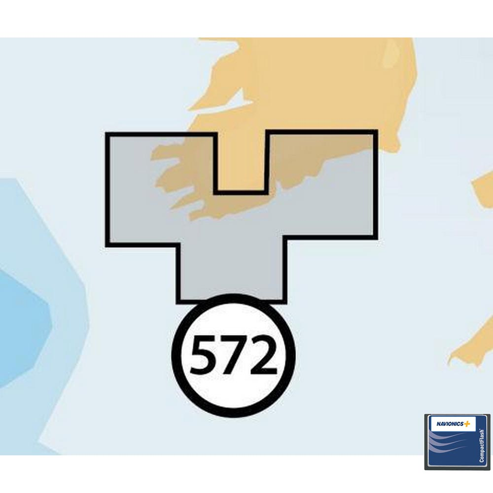 Navionics Navionics+ Small CF South of Ireland