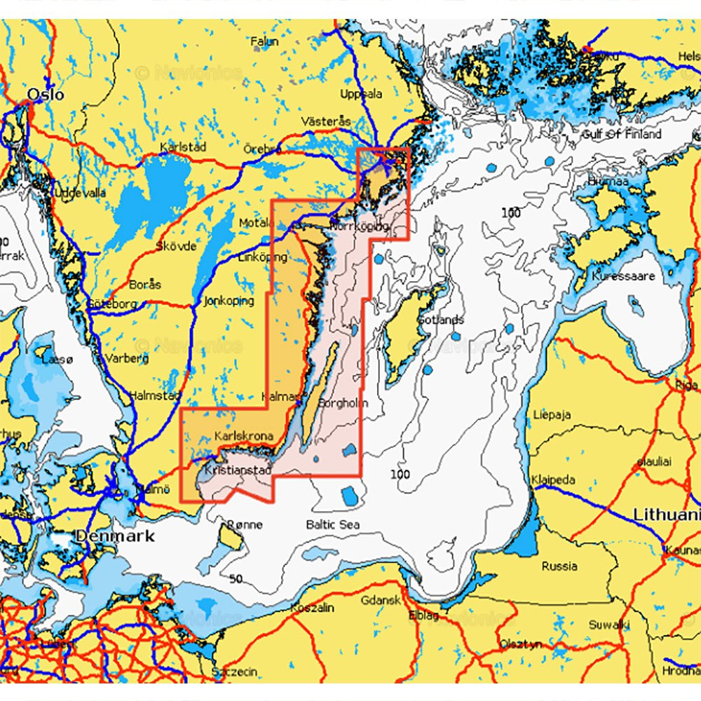 Navionics Navionics+ Small Southeast of Sweden