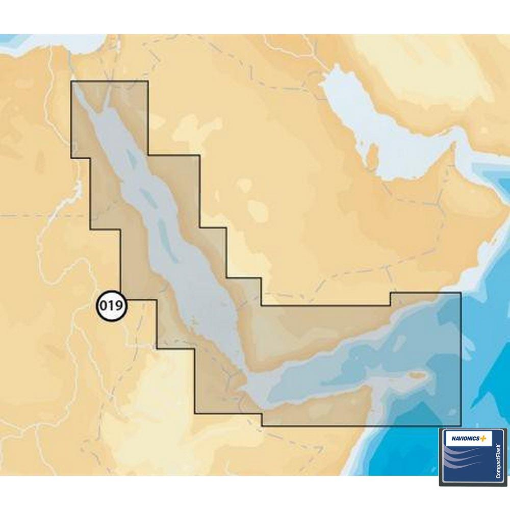 Navionics Navionics+ Small CF Red Sea Aden Gulf