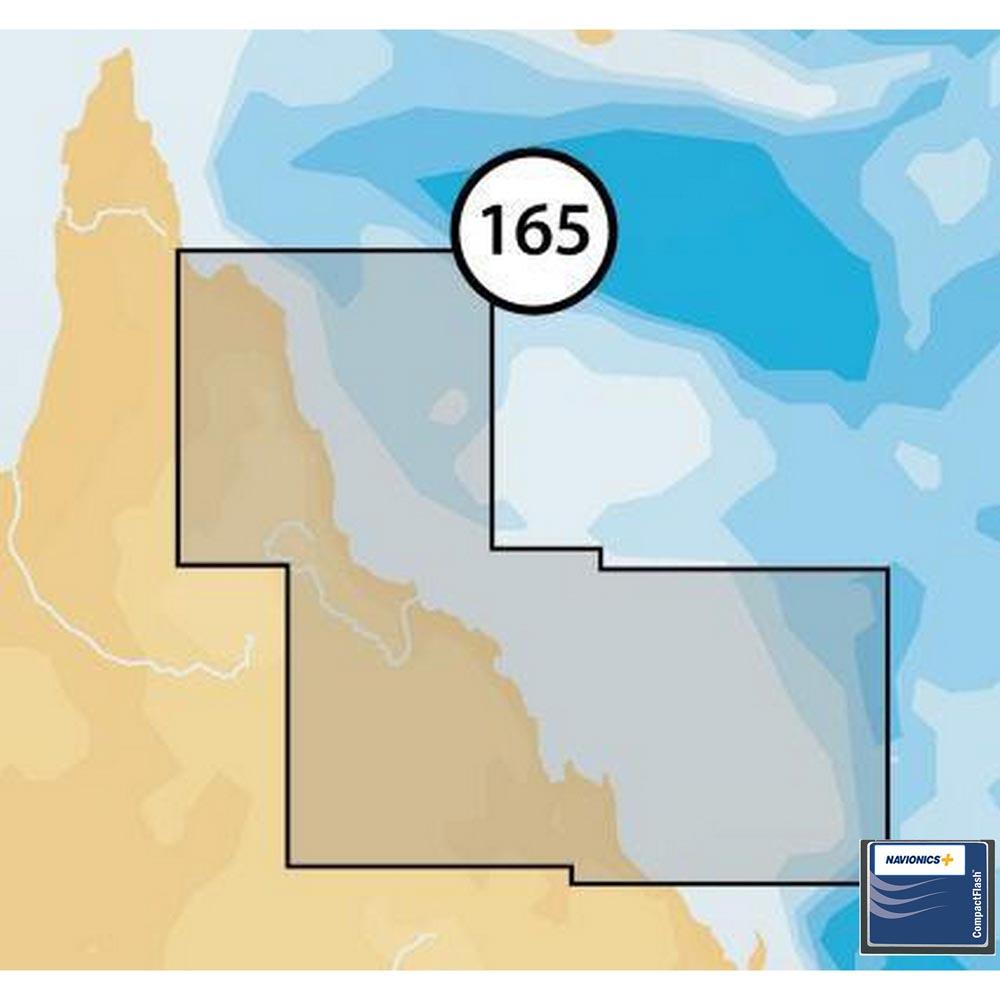 Navionics Navionics+ Small CF Northeast of Australia