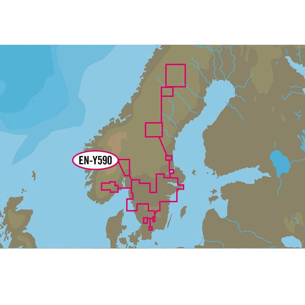 C-map Nt+ Wide Inland Waters of Scandinavia