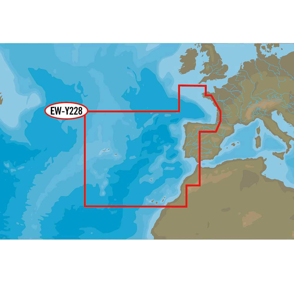 C-map Nt+ Wide West European Coasts