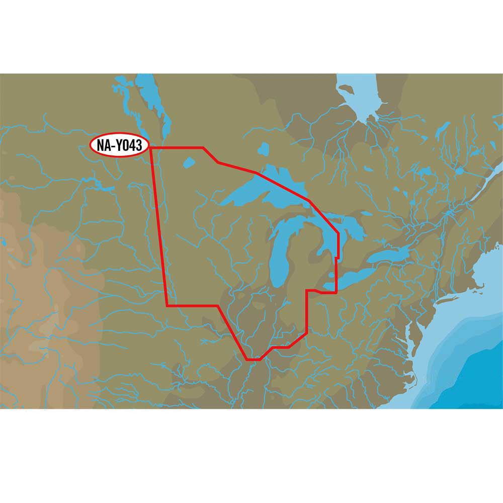 C-map Nt+ Wide Lakes Usa Central North