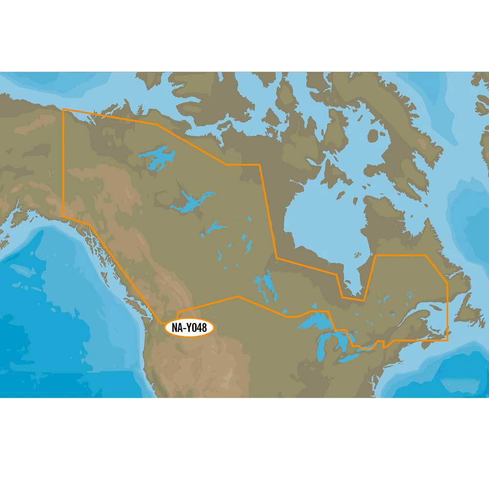 C-map Nt+ Wide Lakes of Canada