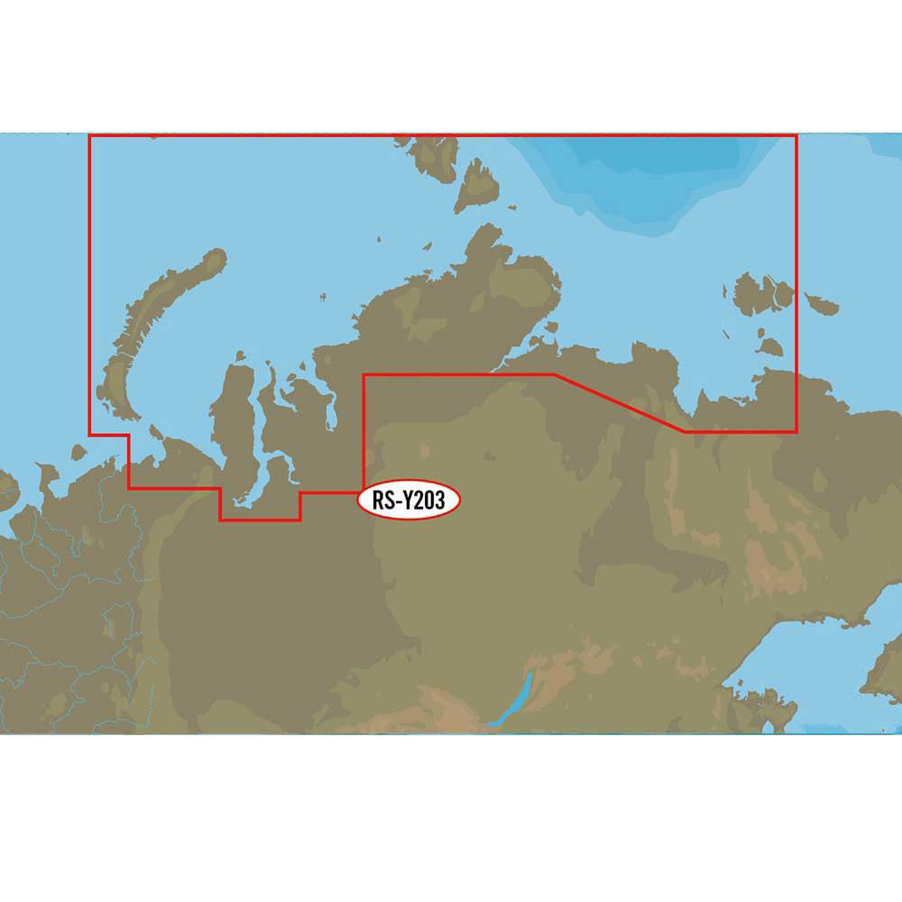 C-map Nt+ Wide North Central of The Russian Federation