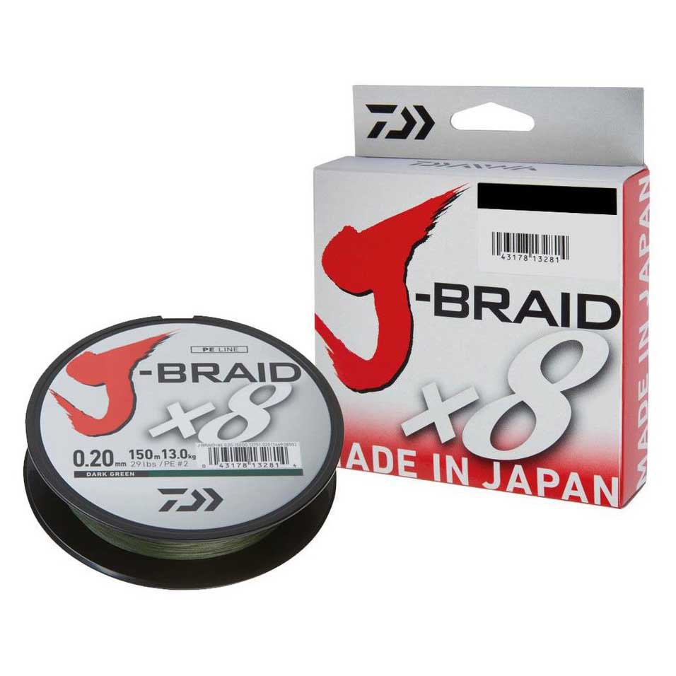 Daiwa Jbraid 8 Braid 300m